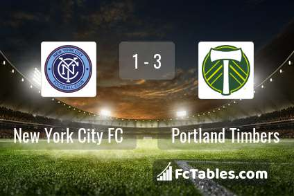 Preview image New York City FC - Portland Timbers