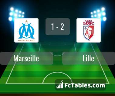 Preview image Marseille - Lille