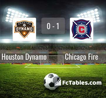 Preview image Houston Dynamo - Chicago Fire