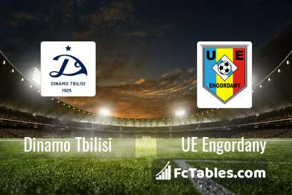 Preview image Dinamo Tbilisi - UE Engordany
