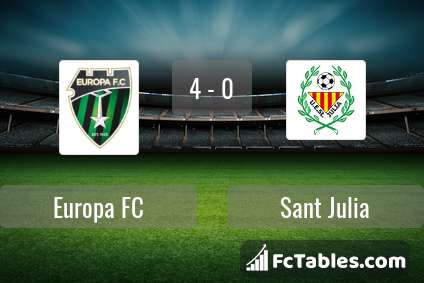 Preview image Europa FC - Sant Julia