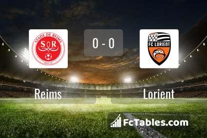 Preview image Reims - Lorient