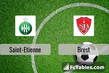 Preview image Saint-Etienne - Brest