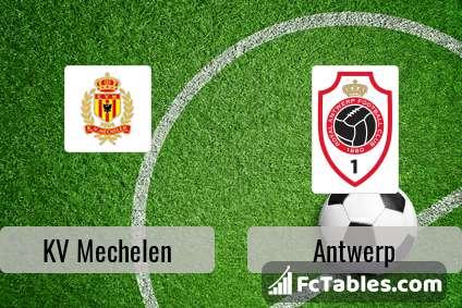 KV Mechelen Antwerp H2H