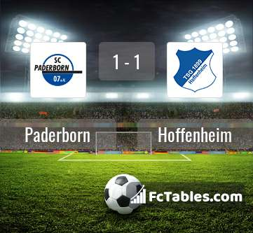 Podgląd zdjęcia Paderborn - Hoffenheim