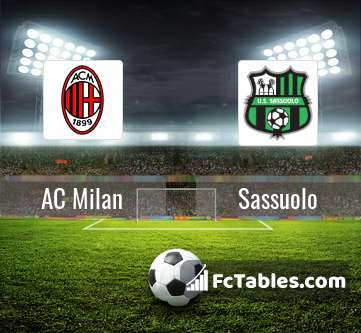 Preview image AC Milan - Sassuolo