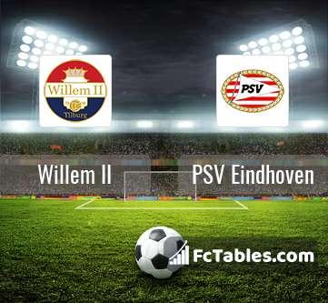 Willem II PSV Eindhoven H2H