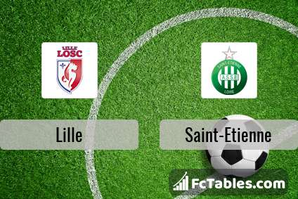 Preview image Lille - Saint-Etienne