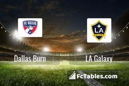 Preview image Dallas Burn - LA Galaxy