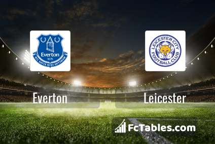 Preview image Everton - Leicester