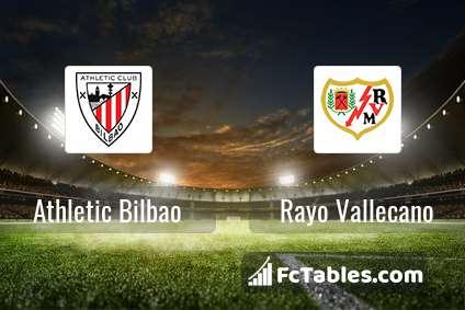 Preview image Athletic Bilbao - Rayo Vallecano