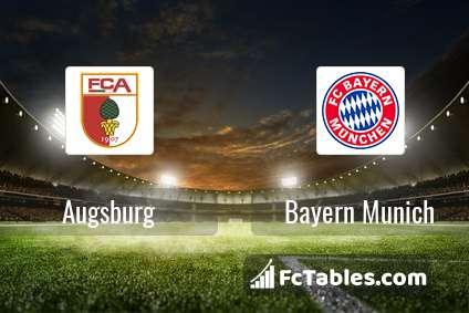 Preview image Augsburg - Bayern Munich