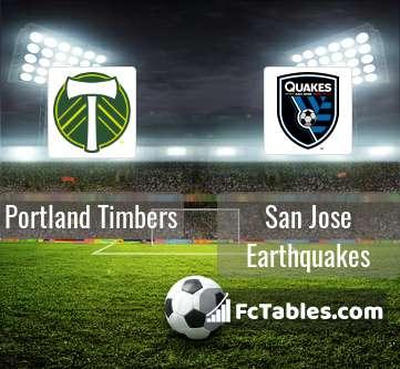 Portland Timbers San Jose Earthquakes H2H