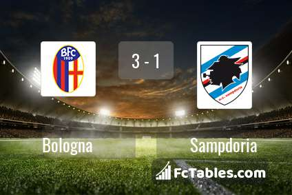 Preview image Bologna - Sampdoria