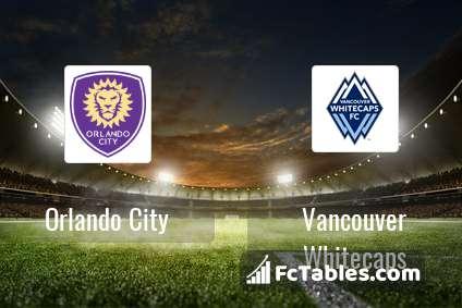 Preview image Orlando City - Vancouver Whitecaps