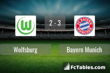 Preview image Wolfsburg - Bayern Munich