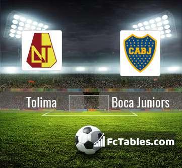 Tolima Boca Juniors H2H