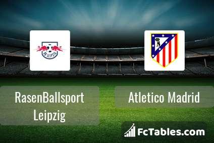 Anteprima della foto RasenBallsport Leipzig - Atletico Madrid