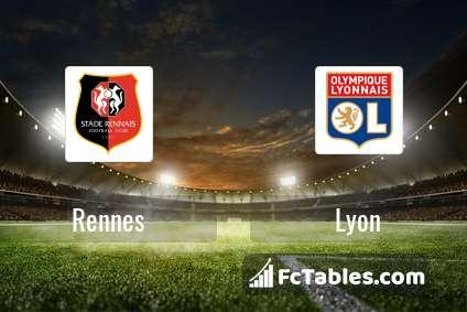Preview image Rennes - Lyon