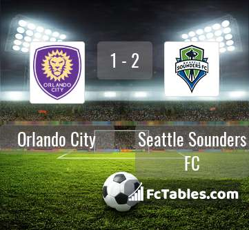Preview image Orlando City - Seattle Sounders FC