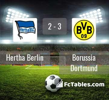 Anteprima della foto Hertha Berlin - Borussia Dortmund