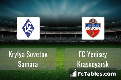 Preview image Krylya Sovetov Samara - FC Yenisey Krasnoyarsk