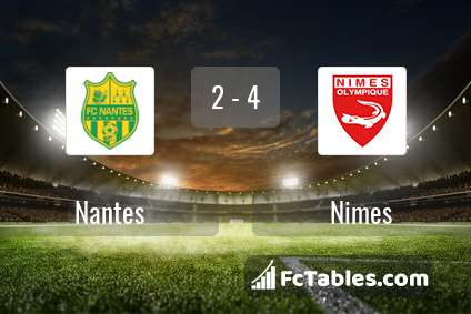 Preview image Nantes - Nimes
