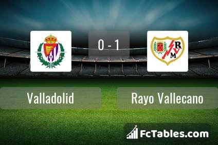 Preview image Valladolid - Rayo Vallecano