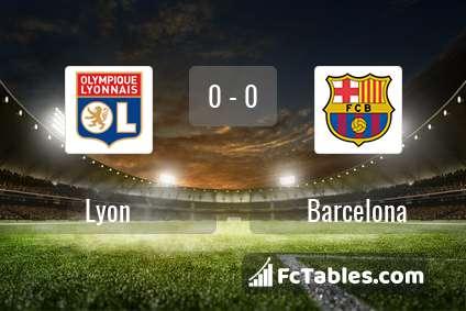 Preview image Lyon - Barcelona