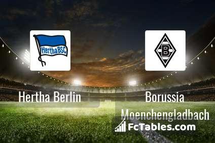 Preview image Hertha Berlin - Borussia Moenchengladbach