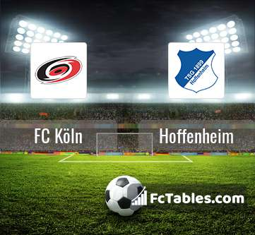 Anteprima della foto FC Köln - Hoffenheim
