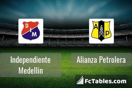 Independiente Medellin Alianza Petrolera H2H