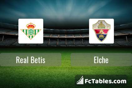 Preview image Real Betis - Elche