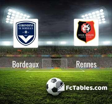 Preview image Bordeaux - Rennes