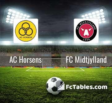 AC Horsens FC Midtjylland H2H
