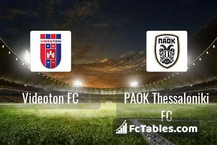 Anteprima della foto Videoton FC - PAOK Thessaloniki FC