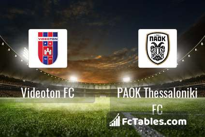 Preview image Videoton FC - PAOK Thessaloniki FC