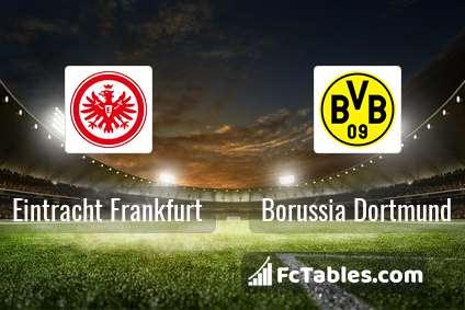 Preview image Eintracht Frankfurt - Borussia Dortmund