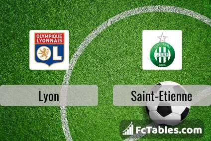 Preview image Lyon - Saint-Etienne