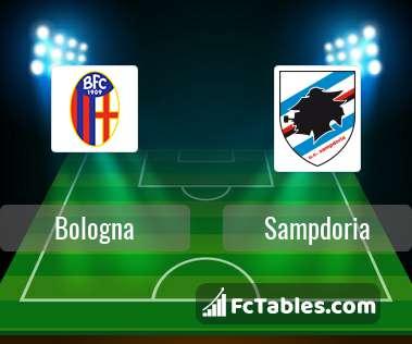 Preview image Bologna - Sampdoria
