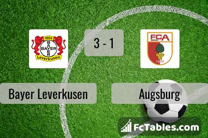 Preview image Bayer Leverkusen - Augsburg