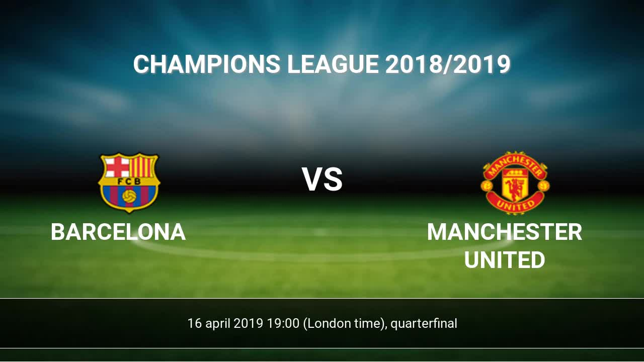 Barcelona vs Manchester United