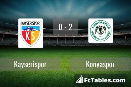 Preview image Kayserispor - Konyaspor