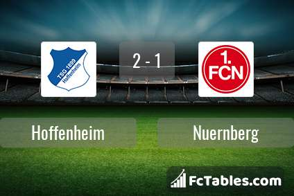 Preview image Hoffenheim - Nuernberg